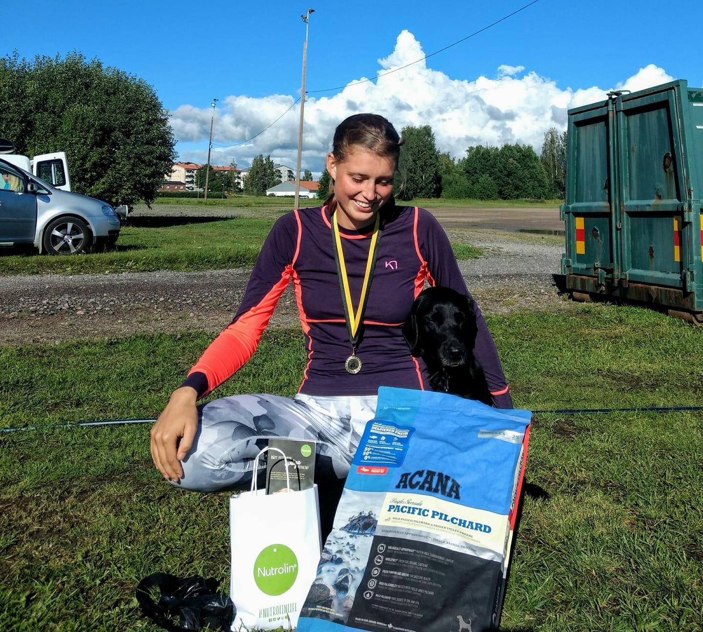 Lovisa vann ungdoms SM i agility