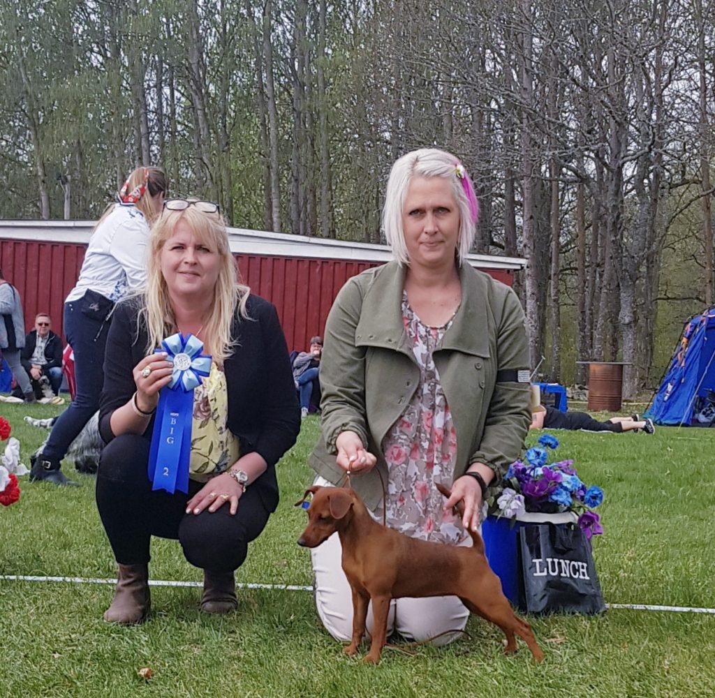 Magdalena Karlsson med Ella